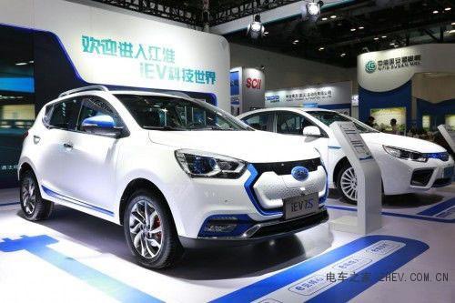 江淮汽车闪耀新能源和智能网联汽车大会