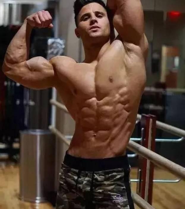 男人撸撸_肌肉猛男促睾图,女生看了流口水,男人看了想撸铁!