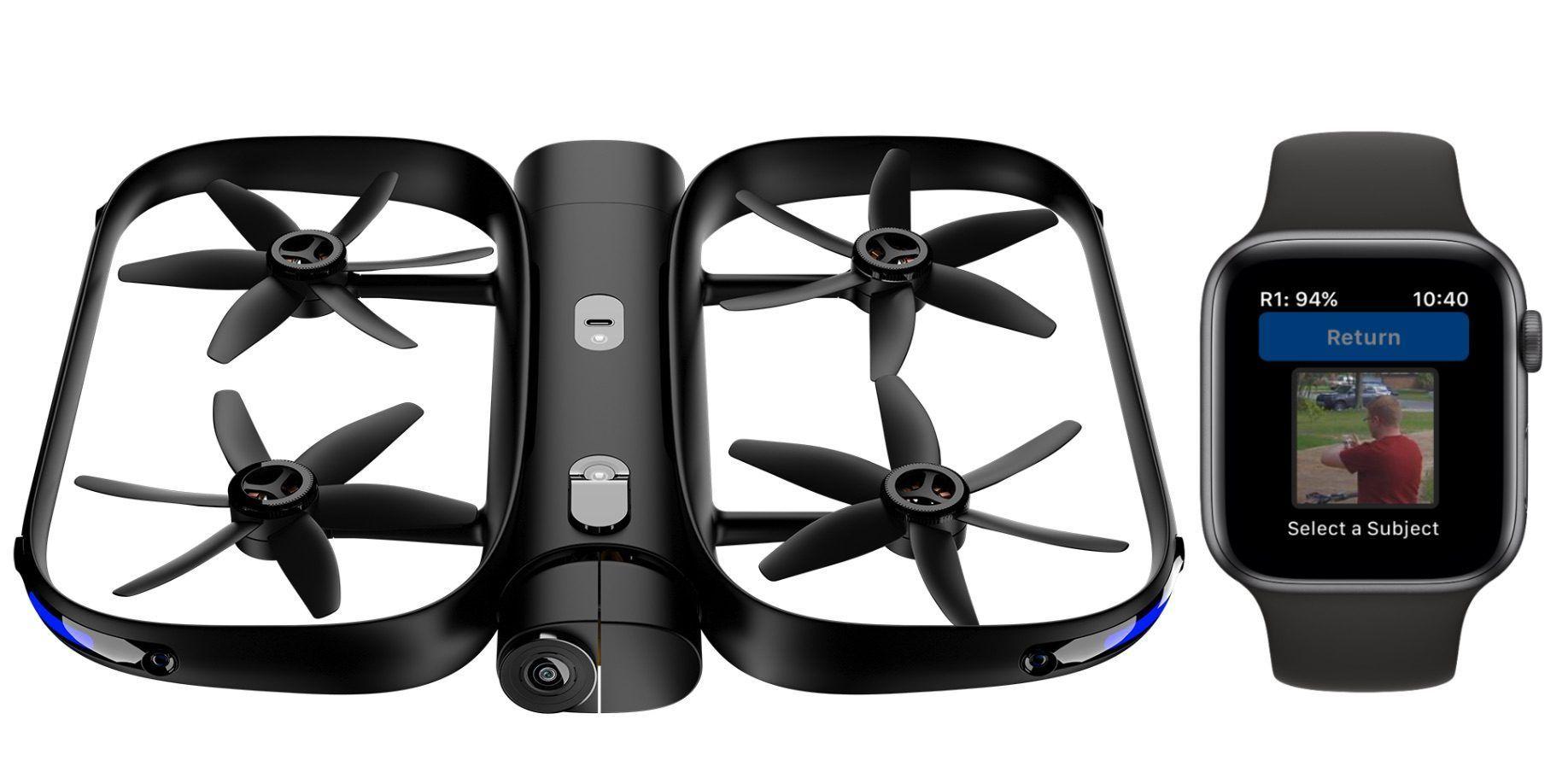 Skydio R1 无人机:飞行中自动捕获目标