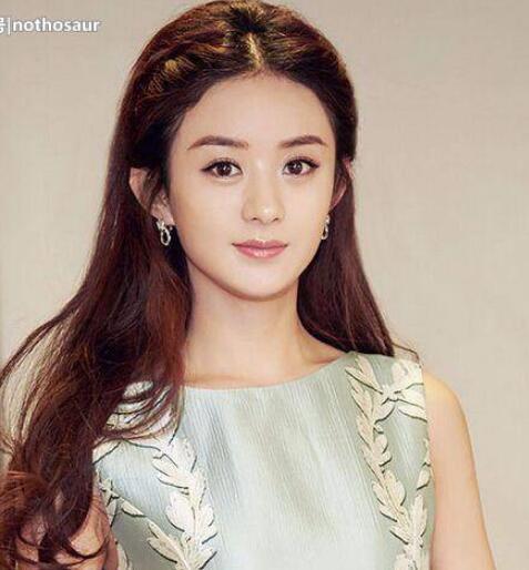 娛樂圈公認的純天然6大美女:趙麗穎排第五