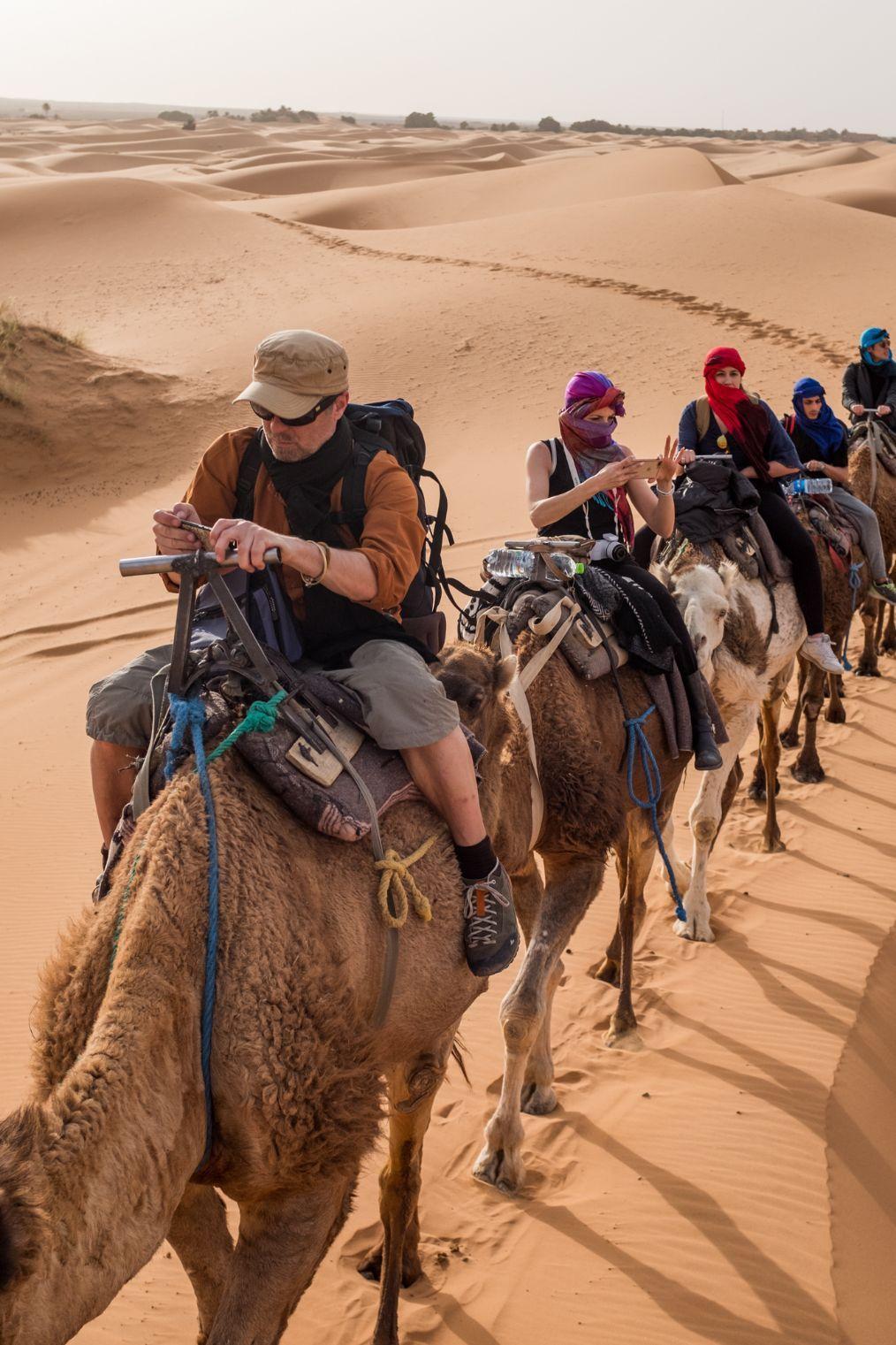 世界上最大沙漠撒哈拉,接近整个中国的面积,一生一定要去看一次