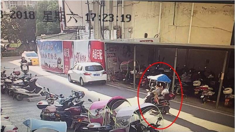 5岁男孩被意外撞伤 麻城警方通过海量视频找到肇事者