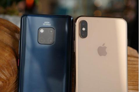 华为Mate20 Pro对比iPhone XS Max,结果毫无悬念