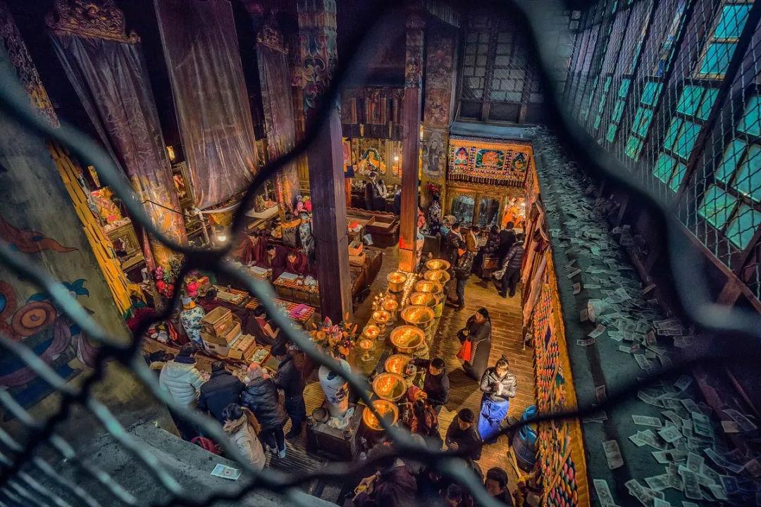 拉萨最重要的财神庙——扎基寺的由来与传说