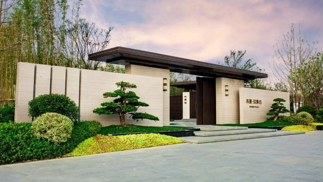 人与人和谐相处囹�a_融合现代与新中式的府院深居 | 伟星玖璋台