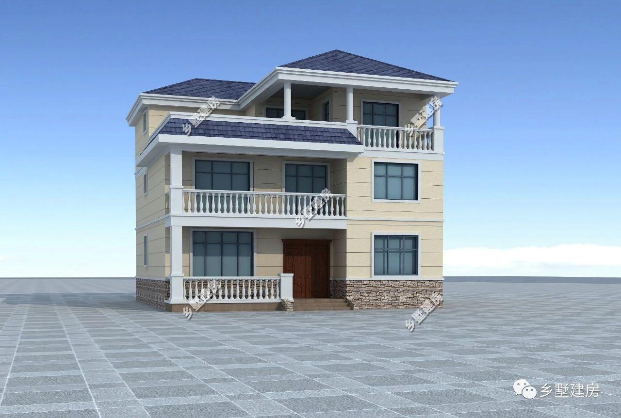 入户玄关的右手边是一间卧室,这间卧室是设计的佣人房,方便照顾一楼图片