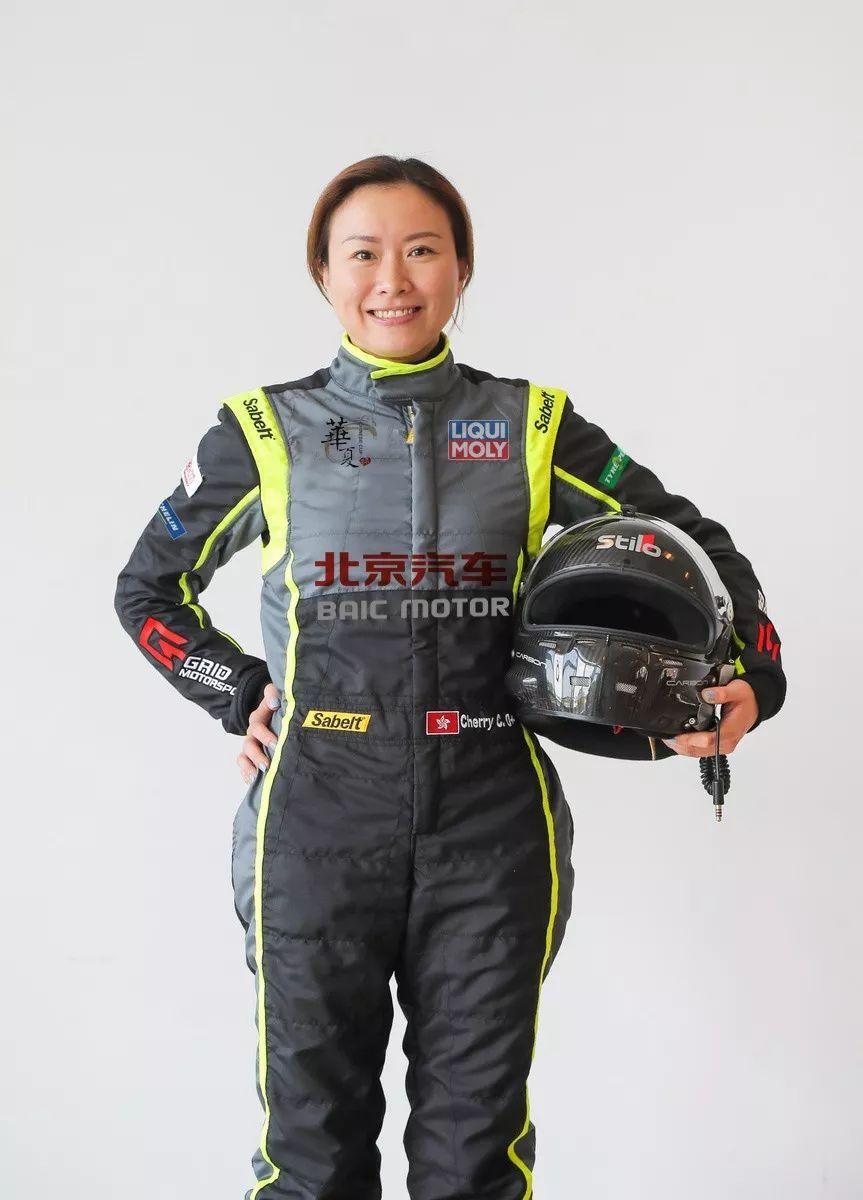 香港新一代女车手张瑛:赛车重整我的斗志!