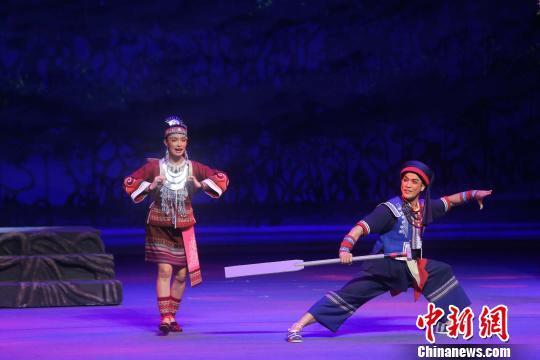 大型原创历史传奇琼剧《红树林》海口首演