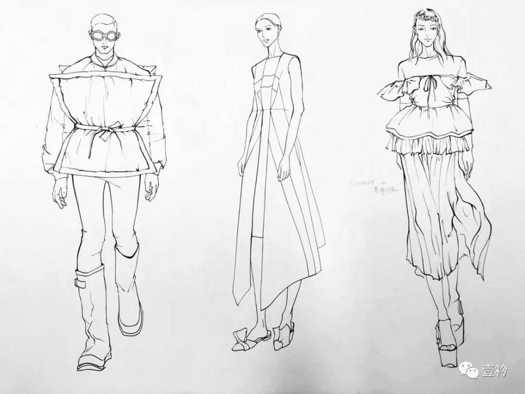 【2】零基础服装设计爱好者; 【3】服装考研,留学,准备作品集的学生