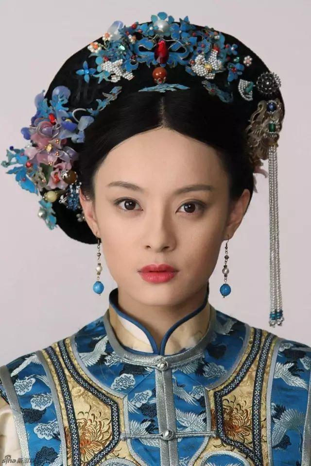 """每次看清宫大戏 都会被格格公主们头上精美的头饰所吸引 料器又称""""图片"""