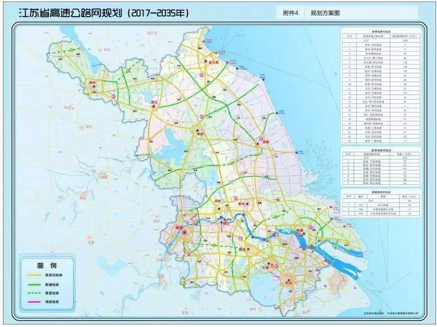 江苏高速公路网规划发布!南通将新增,展望多条高速,过江通道