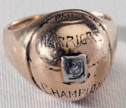 NBA冠军戒指进化史:47年戒指像淘宝9块9包邮勇士暗藏玄机
