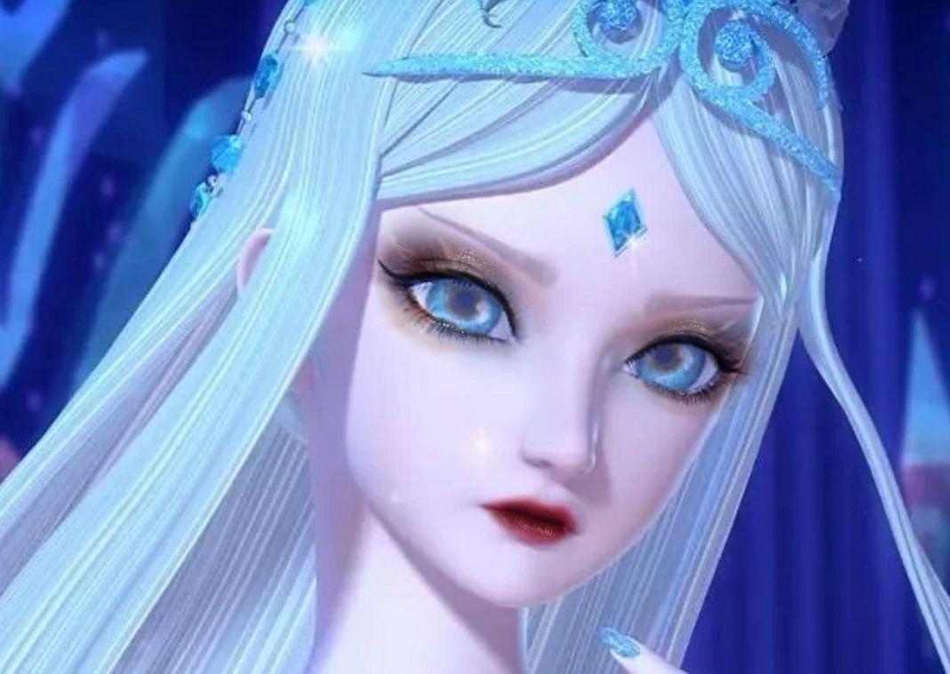 当叶罗丽仙子黑化后,冰公主眼睛神似狐狸,亮彩比灵公主还要美!图片