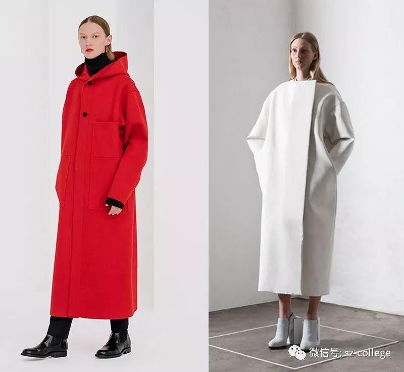 中式服装工作室装仺h㹨/_尚装| 服装平面制版 | 连帽落肩h型大衣制版