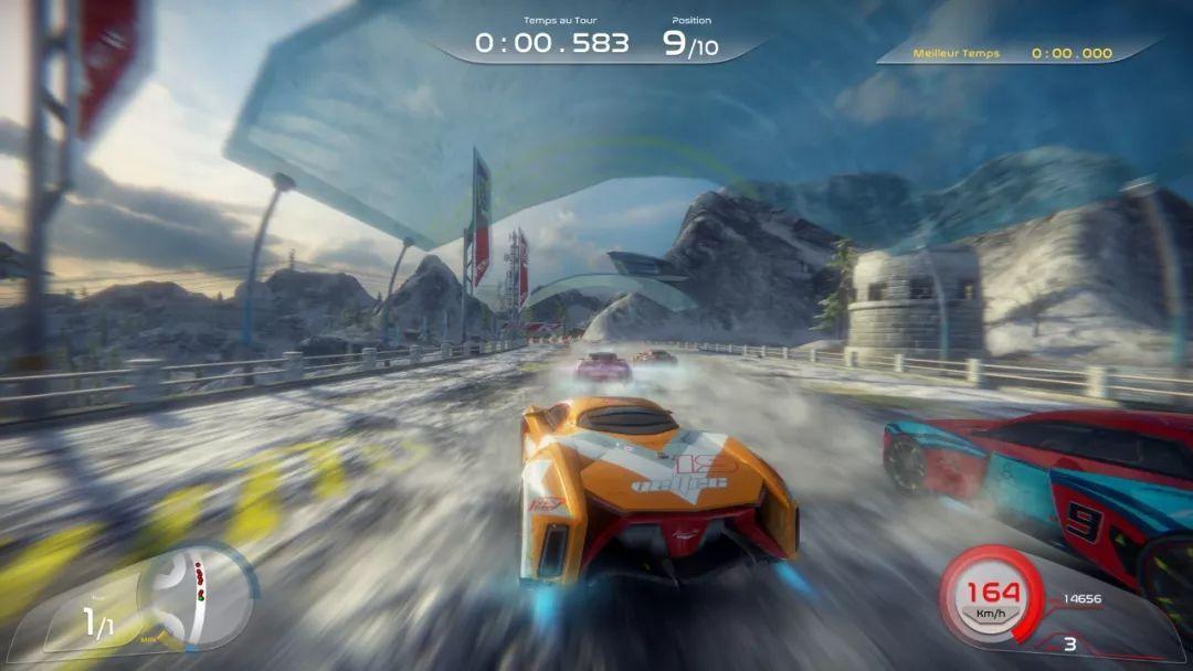 亮瞎你的双眼!梦幻赛车游戏《崛起:未来竞速》10月26日上架steam