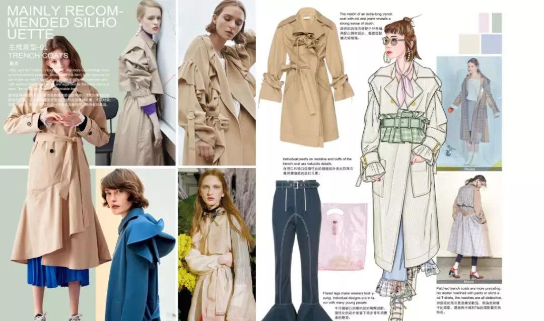 韩系手绘现代服装