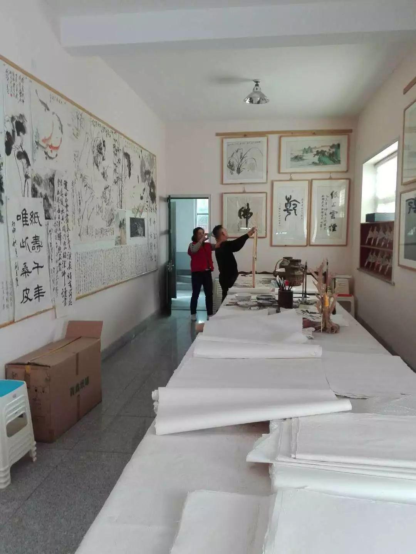 临朐冶源手绘年画