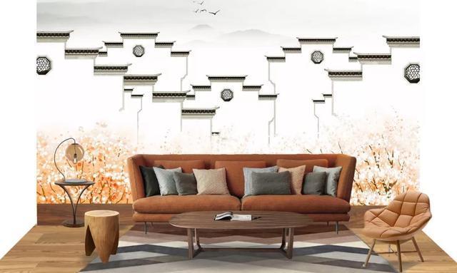 启上集成墙面丨手绘背景:让全世界看到中国的水墨风