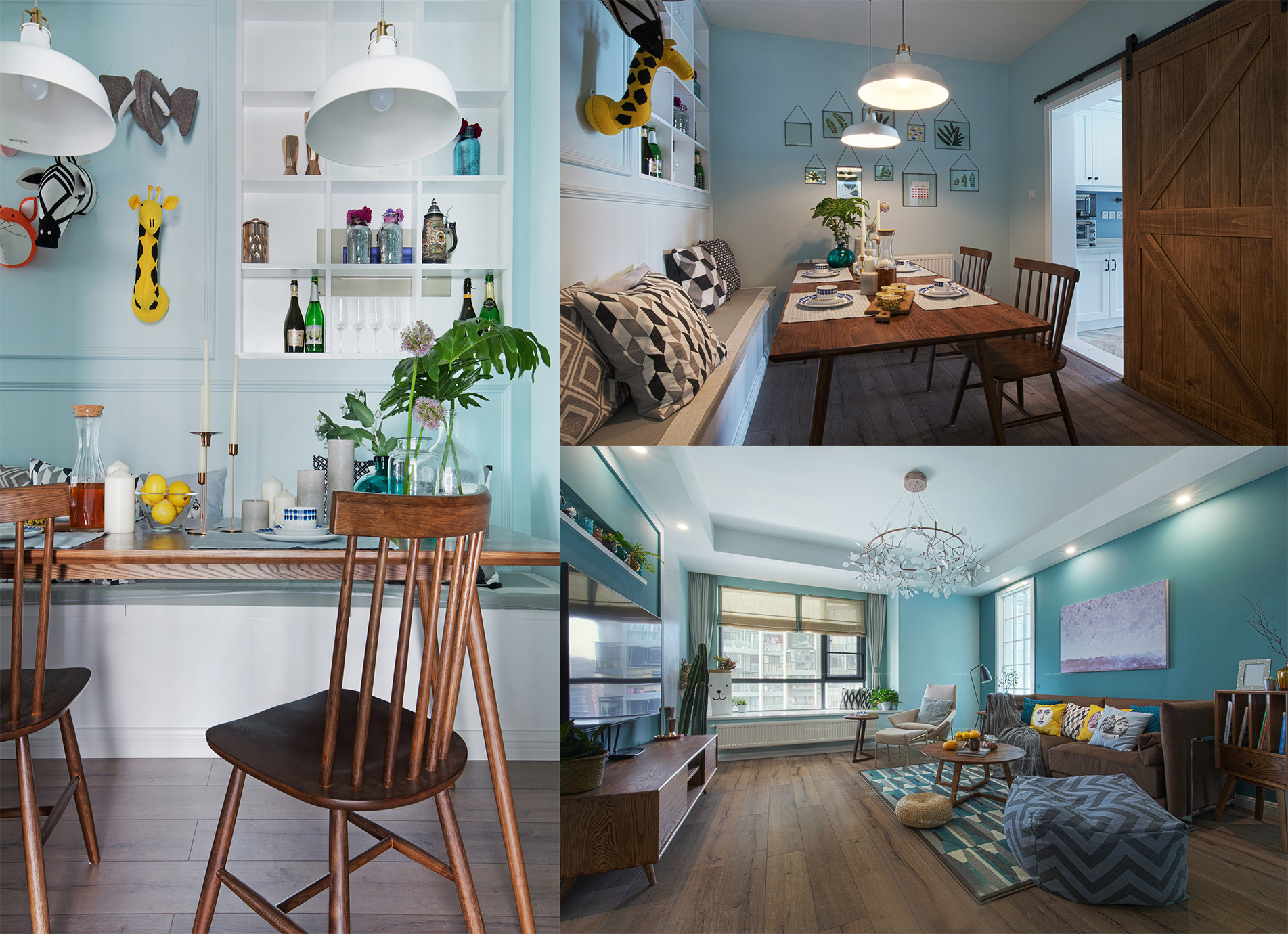 贵阳装修公司-瑞家空间工作室-主创北欧风格分享