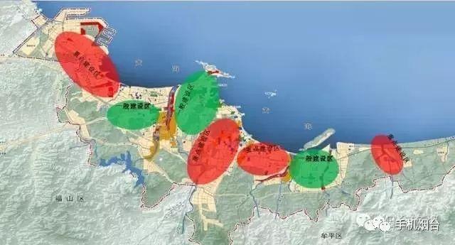烟台市幸福新城规划图