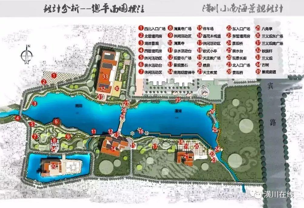 潢川沿河三期规划图