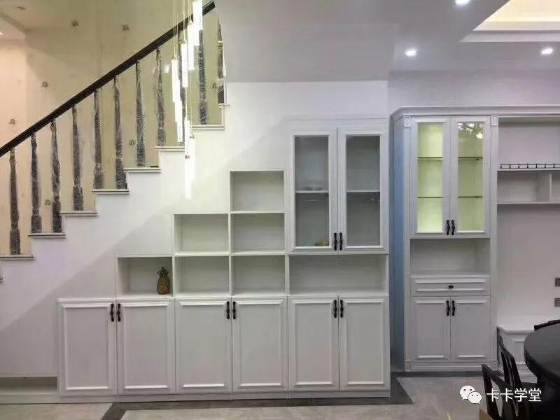 多款脑洞大开的楼梯柜设计_储物台州建筑设计技术规范图片