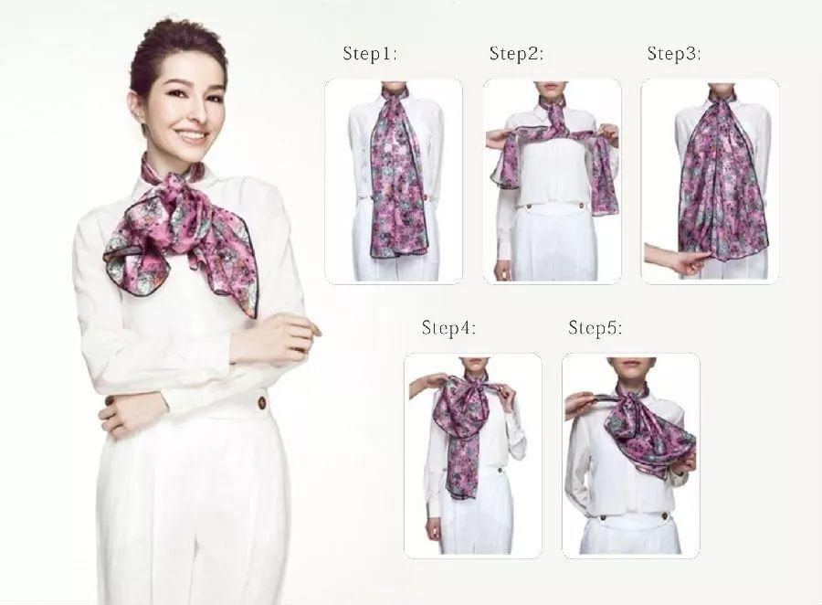 绕一方丝巾,演绎你的万种秋日风情