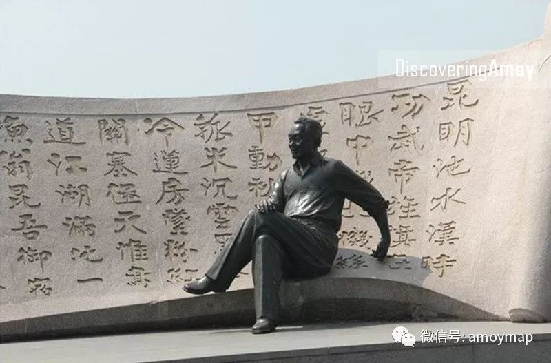 在还没电脑的年代他的字体占据了厦门招牌的半壁江山!