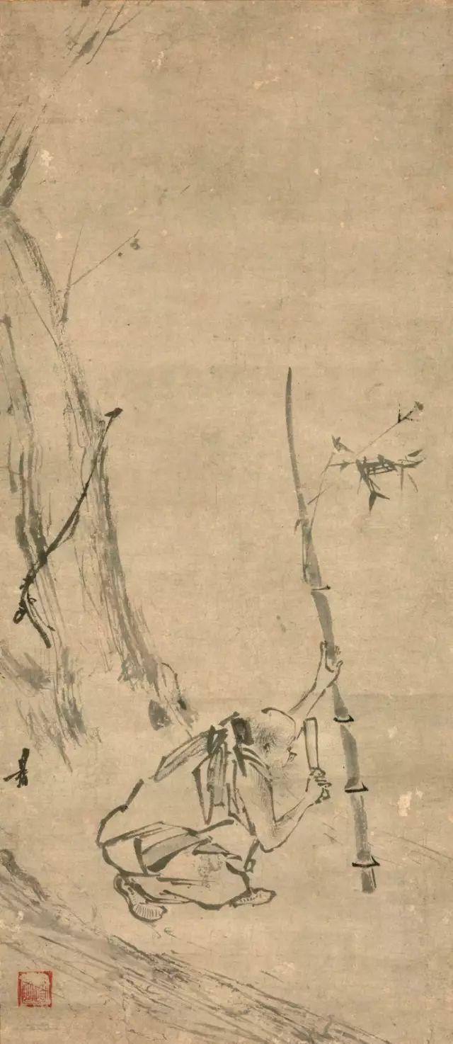 中国简笔画的创始人,其作品在日本被誉为 国宝
