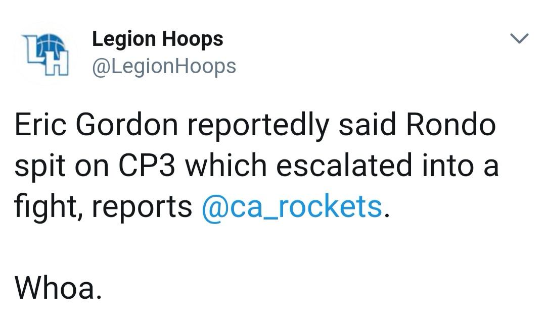 就在刚刚,火箭大将公布冲突起因,球迷:保罗