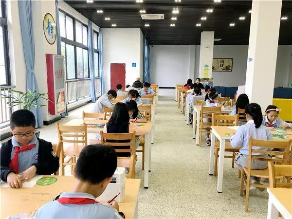 科技筑梦 创新成长 平阳建兰学校 智力美画板 简笔创作画现场比赛
