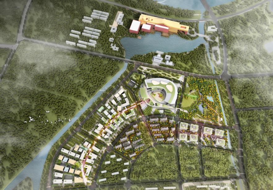 海淀北部E_ZIKOO智慧谷 构建三生一体的特色小镇