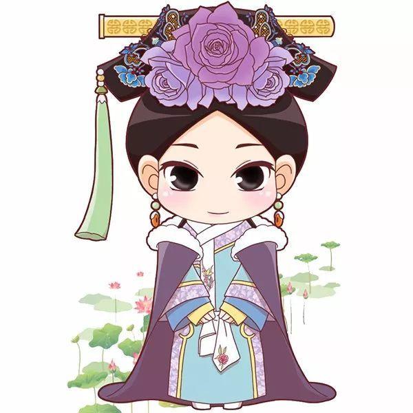 头像| q版超萌古风女生