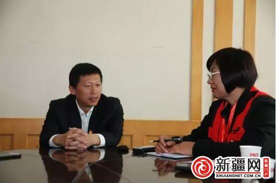【玉都红枣节】且末县委书记徐凯:打造有机绿洲 向市场提供优质安全的农产品