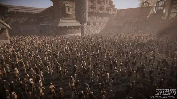 奇幻RPG《黑暗子民》技术演示 同屏丧尸数超6000人