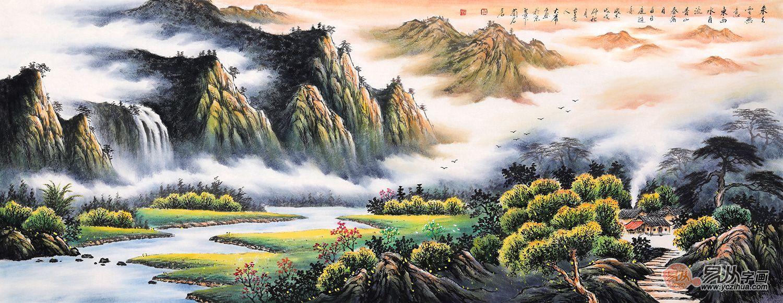 品赏画家薛大庸山水画艺术:水墨丹青,韵语心境