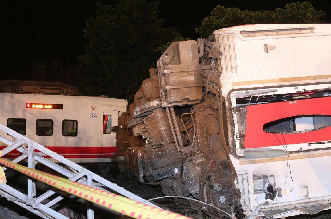 台湾火车出轨致18人死亡,台湾旅游危险成为游客减少的最大理由