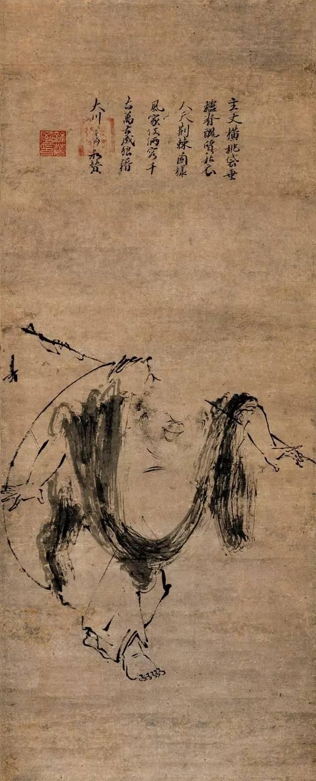 文化 正文  他的人物画很简单,很概括,也很生动.