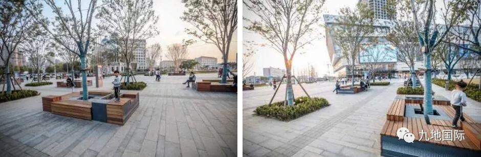 包括树阵专业和下沉图形显卡重要广场.平面设计用两个节点广场吗图片
