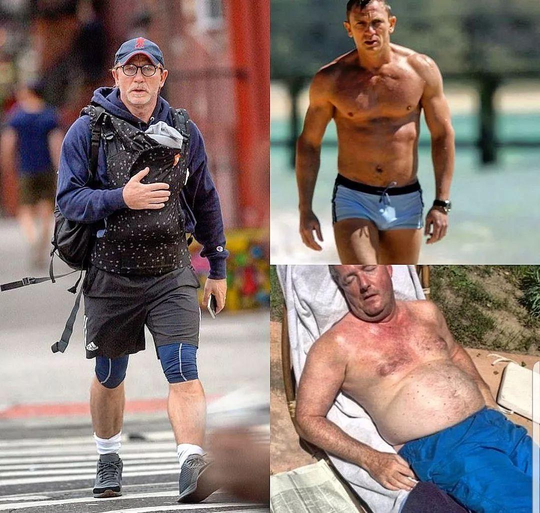 007抱娃上街被批「娘炮」,600W網友怒了,連美國隊長也下場開撕:我們就想當奶爸!不行嗎?