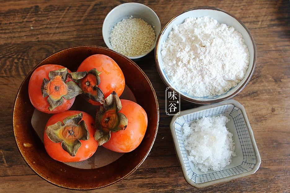 【芝麻】:小材料4个,糯米粉适量,白糖20克,柿子适量电烤箱烤鸡翅蜂蜜图片