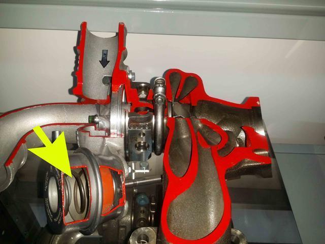通过电磁阀控制真空吸力来实现阀杆往复动作,使得泄压阀开启或者关闭.