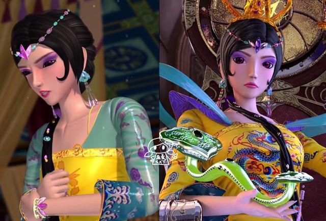 叶罗丽仙境的女王曼多拉自仙境大战以来就一直控制着众多仙子,还妄想图片
