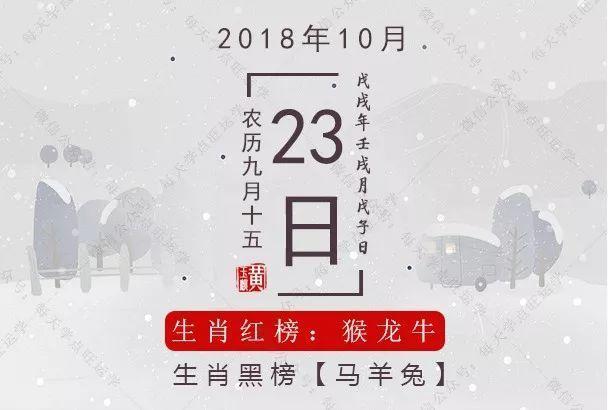 10月23日生肖运势:生肖牛可进行投资!