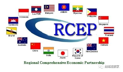 若rcep成功,将涵盖约35亿人口,gdp总和达23万亿美元,成为世界最大的