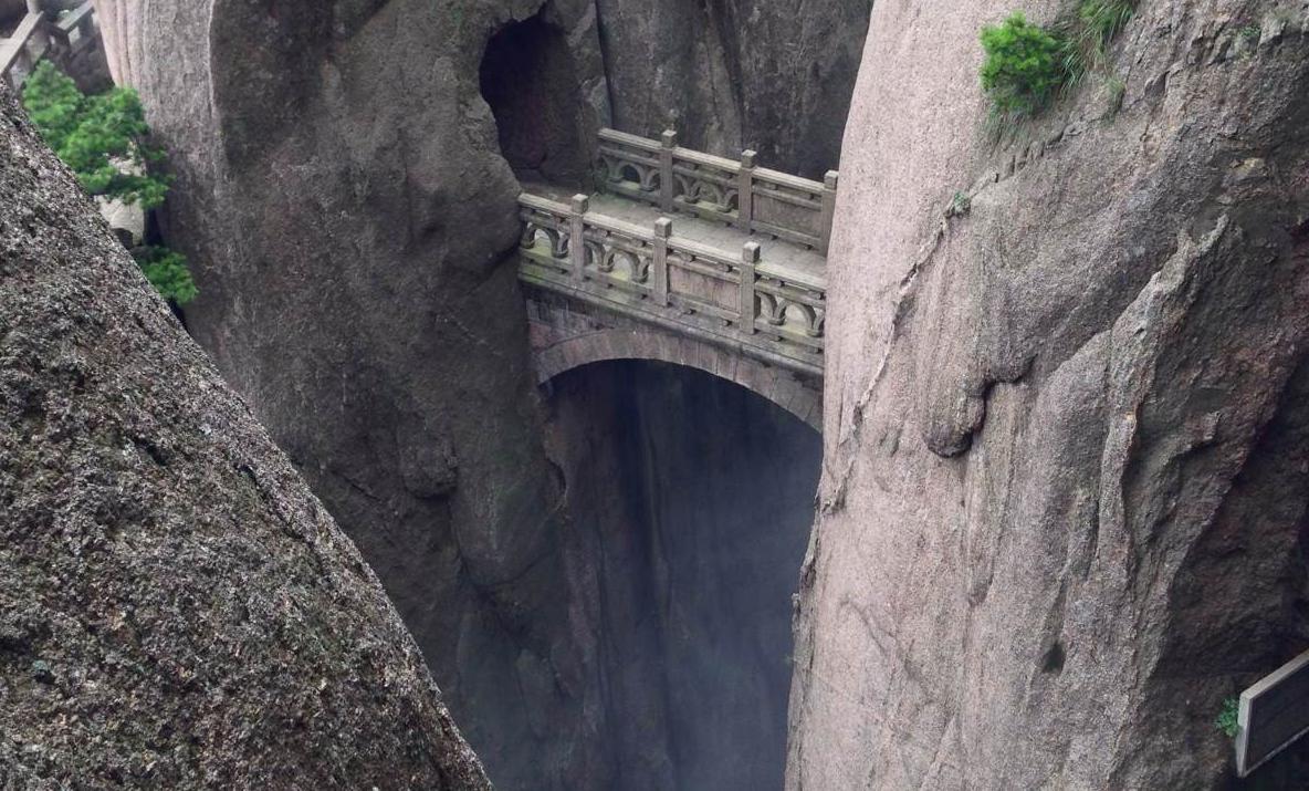 黃山的步仙橋,導游騙游客是古橋,其實是現代建筑