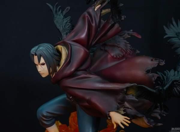 《火影忍者》宇智波鼬秽土转生雕像 身姿潇洒气势凌人