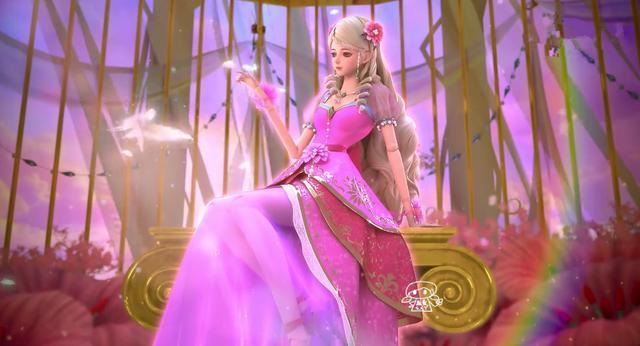 叶罗丽圣级仙子们的坐姿,灵公主好淑女,冰公主毒夕绯都很霸气图片