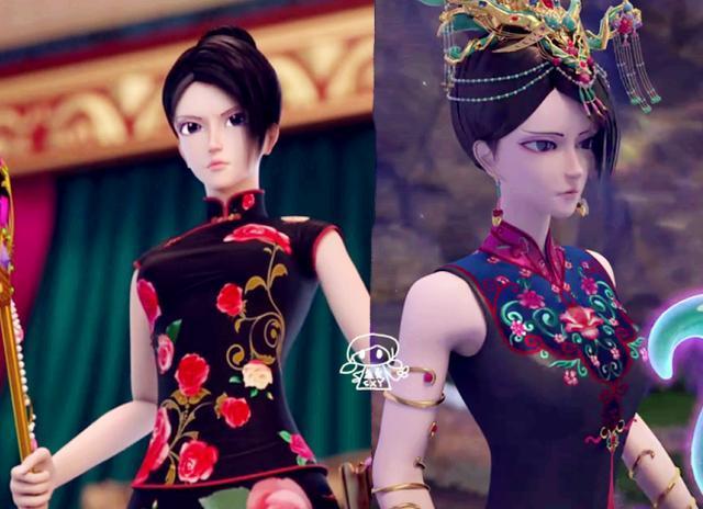 叶罗丽圣级仙子变身前后的造型对比,辛灵如王后,冰公主的最罕见图片