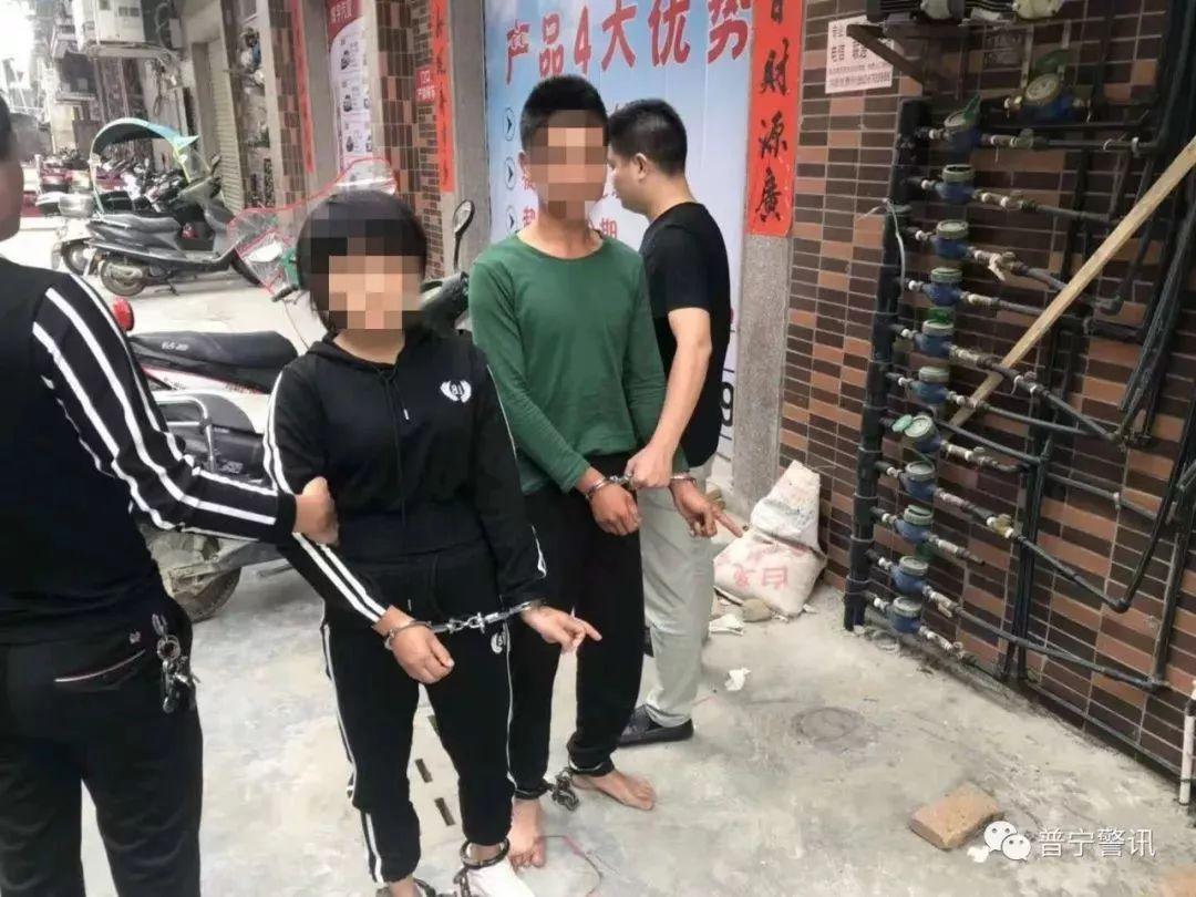 金和镇_这伙男女先后流窜普宁各地盗窃摩托车,最小的才15岁!